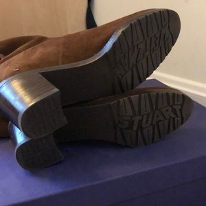 f79aaf6c5a6 Stuart Weitzman Shoes - LIKE NEW Stuart Weitzman Midland Suede OTK Boot